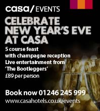 Celebrate New Years at the CASA Hotel. Click for details
