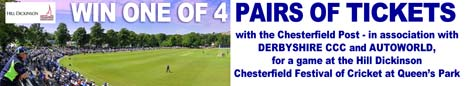Win Tickets As The Annual Chesterfield Festival Of Cricket Returns