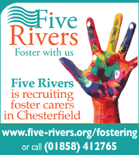 Five Rivers Foster Care has arrived in Chesterfield. Click for info on becoming a Foster Carer