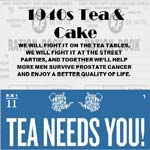 1940's Tea & Cake Party In Aid Of Prostate Cancer Support Group