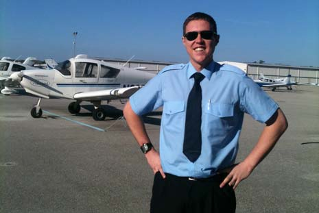 Jamie is now a Pilot for Atlantic Airlines