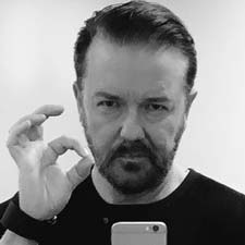 Public figures and celebrities such as comedian Ricky Gervais, former England rugby star Danny Cipriani, Harry Potter actor Matthew Lewis and Trainspotting author Irvine Welsh tweeted their support and their own 'OK' selfies, nominating other online friends to do the same.