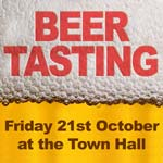 Mayor's Appeal Beer Tasting event, Friday 21st October 2011