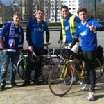 Belgian Spireite Cyclists Use Pedal Power To Proact