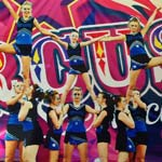 Cheerleading & Cabaret Performances At Chesterfield Marathon