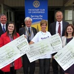 Boost For Three Local Charities