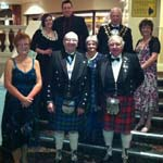 Chesterfield Caledonians Celebrate 'Fantastic' Burns' Night