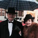 Chesterfield 'Forty-fies' Against The Rain As Wartime Returns