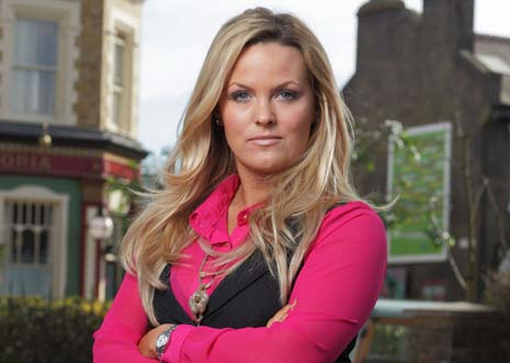 Eastenders' character Tanya Jessop will be involved in a cervical cancer storyline on the show soon encouraging the message to be brought home to the public say NHS Derbyshire
