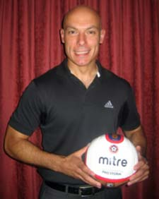 Howard Webb MBE, the new NCEL league President will officiate at the Staveley MWFC v Chesterfield FC friendly on Wed 20th july 2011