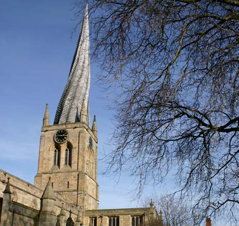 St Mary and All Saints' Church, the famous 'crooked spire', will be open between 11am and 4pm on Bank Holiday Monday. Visitors can experience breath-taking views of Chesterfield from the top and learn the history behind the 228 foot crooked spire.