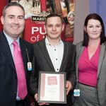 New Whittington Pub, The Wellington Hotel, Dedicates Award To Staff And Customers