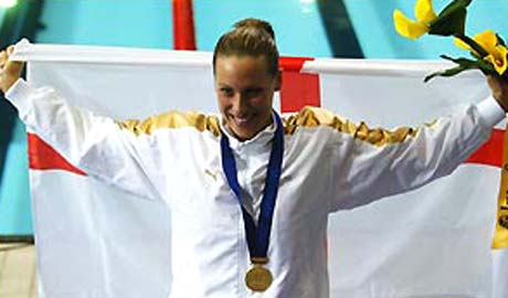 Sarah Price will be visiting NE Derbyshire to lead some swim clinics