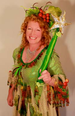 This year's Switch-On will have a traditional feel (oh yes it will!) with special guest appearances from Charlie Dimmock, the Organic Fairy in the Pomegranate's pantomime 'Jack and the Beanstalk'