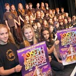 Choir Warms Up For Chesterfield's Big Production