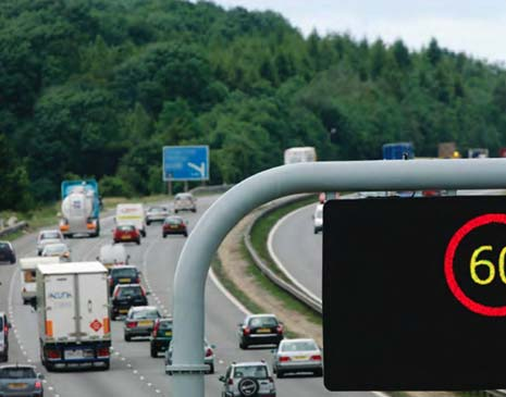 A 60mph speed limit enforced by speed cameras has been proposed between 7am and 7pm every day by The Highways Agency to help reduce carbon emissions.