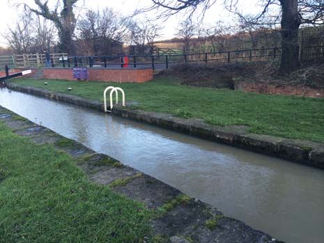 The county council owns and maintains 11 miles of canals including Cromford Canal from Cromford Wharf to Ambergate and Butterley Tunnel to Codnor Park Reservoir; Chesterfield Canal from St. Helena's Weir to Staveley and around Heritage Park in Renishaw; Derby and Sandiacre Canal from Lock Lane (junction to the Erewash Canal) to Longmoor Road in Sandiacre.