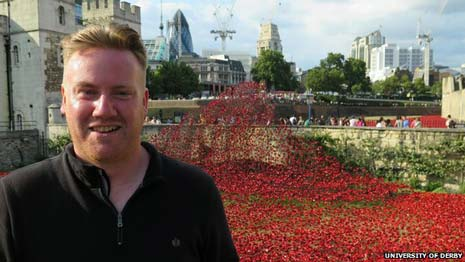 Residents and local history groups are being asked to help support a Chesterfield Borough Council bid to bring an iconic poppy display to the town.