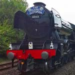 The Legendary Flying Scotsman Visits Chesterfield