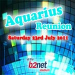 The Aquarius reunion at the B2net, July 23rd