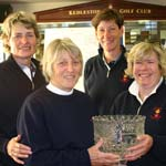 Top women golfers visit Kedleston Park and a Win for Derbyshire