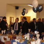 Dinner at Matlock Town FC raises £5000