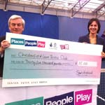 Lottery Funding Means Advantage Chesterfield Lawn  Tennis Club