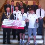 Chesterfield's Rising Sports Stars Share £1900 Podium Bursary