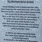 Markham Burial Ground Restored