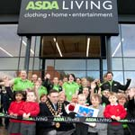 Crowds Turn Out For New Asda Living Store In Chesterfield