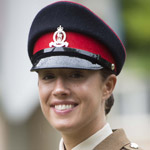 Chesterfield Soldier Lance Corporal Kiri Bashford Prepares To March Through Home Town