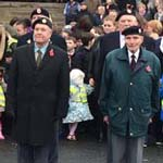 Chesterfield Comes Together To Honour The Fallen