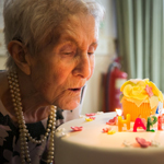 Farmer Eileen Marks Her 100th Birthday With Care Home Party