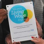 Derbyshire Community Health Services NHS Trust's Living Wage Pledge Earns National Recognition