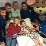 A Ho-Ho-Hospital Visit From Chesterfield Players