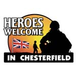 A heroes welcome in chesterfield