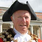 Chesterfield's New Mayor, Cllr Peter Barr