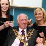 Chesterfield's Mayor and Mayoress have a beauty-ful evening at the Therapy Lounge