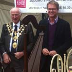 The Mayor harps on for Charity