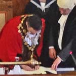 Chesterfield's New Mayor, Cllr Paul Stone  Takes Office
