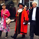 Chesterfield's 'Ordinary Hero' Parades Through Town