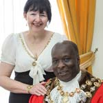 Welcoming Chesterfield's New Mayor And Mayoress