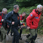 Edale Mountain Rescue Team Help In Search For April Jones