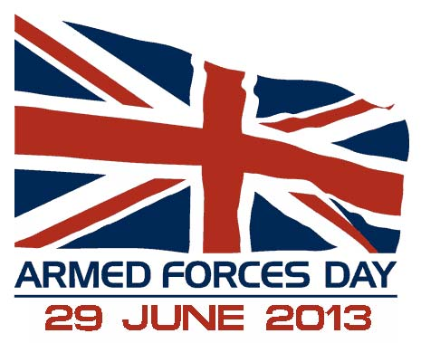 Armed Forces Day 2013, which takes place on Saturday 29th June, is a nationwide celebration of Her Majesty's Armed Forces.