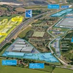 Road To New Business Opportunites At Markham Vale