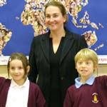 MP Natascha Engel Meets Pupils In 2 Local Schools