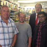 Shop Owners Thank MP After Fake Cigarettes Shop Is Closed