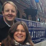 Chesterfield MP Toby Perkins Joins 'Small Business Saturday' Bus Tour in Chesterfield
