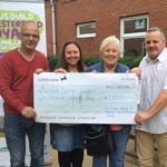 Cheque Presentation In Honour Of Alderman Jim McManus
