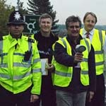 Local MP Helps Police Launch Scheme To Target Speeding